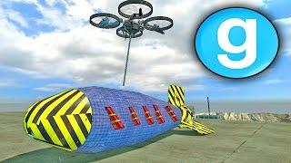 Gmod Sandbox - DETONATING THE ATOM BOMB!! Garry's Mod Funny Moments