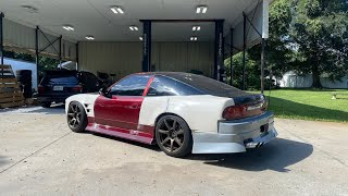 homepage tile video photo for Fixing up and driving the new 180sx. Lots of surprises