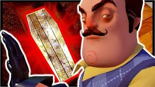 Repeat youtube video DIGGING UP THE HOUSE GRAVE!?! | Hello Neighbor