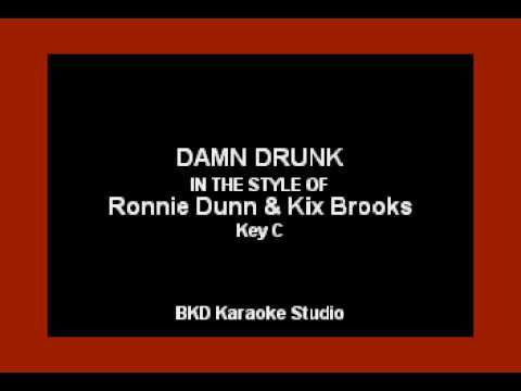 Damn Drunk (In the Style of Ronnie Dunn & Kix Brooks) (Karaoke with Lyrics)