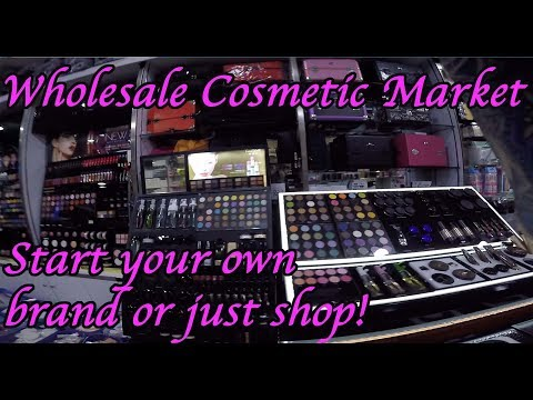 cosmetic esthetic wholesale market Guangzhou China. makeup weave extensions in one place for cheap!
