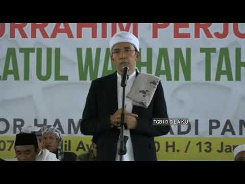 Terbaru dari TGB, siang tadi di depan ratusan ribu jamaahnyan di Lombok. Dengarkan!