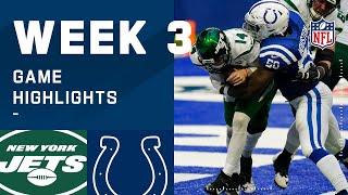 Jets vs. Colts Week 3 Highlights | NFL 2020