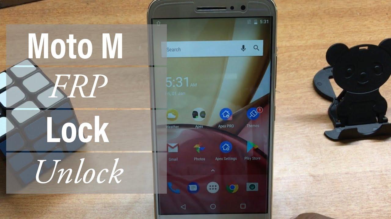 Motorola Moto M(XT1663) FRP Lock Unlock | GSMAN ASHIQUE |