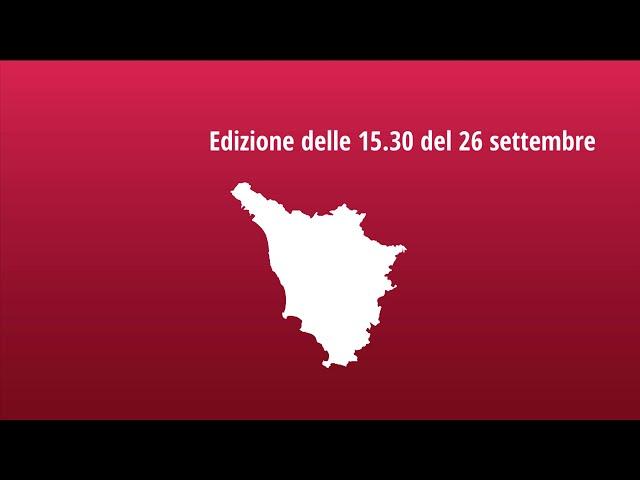 Muoversi in Toscana - Edizione delle 15.30 del 26 settembre 2021