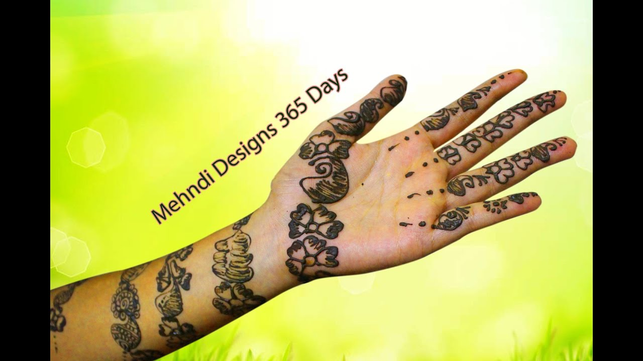 Mehndi Designs Roll : Bangle henna designs on hands how to make mehndi