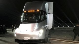 Revealed: Tesla's new electric semi truck