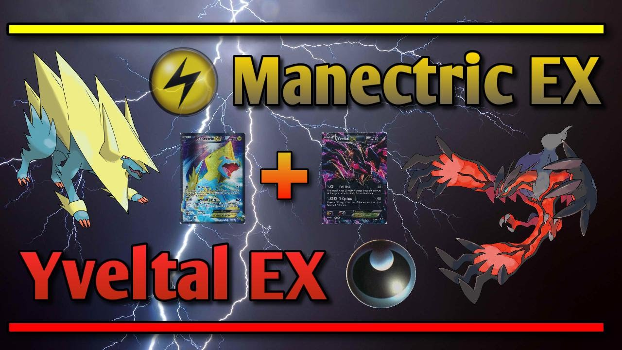 Pokemon Tcg Online 4 Mega Manectric Yveltal Ex Youtube