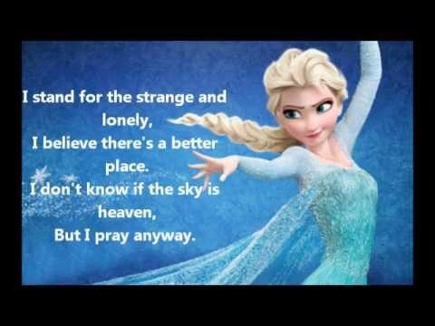 I Stand by Idina Menzel Lyrics - YouTube  I Stand by Idin...