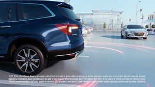 homepage tile video photo for Honda Pilot – Cross Traffic Monitor