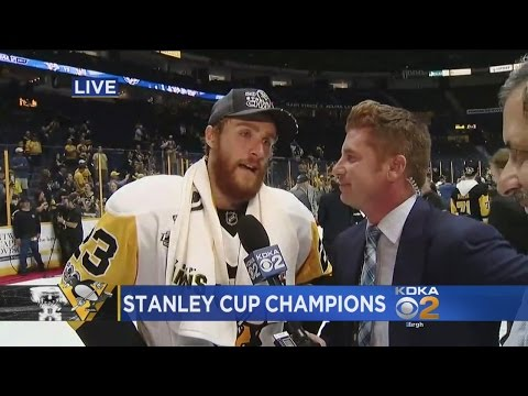 Penguins' Scott Wilson Gets Emotional Over Stanley Cup Victory
