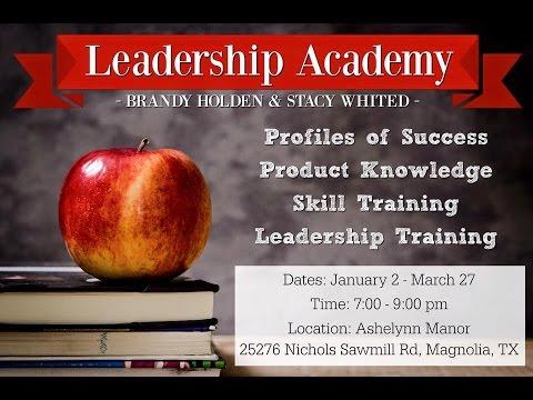 Leadership Academy - Week 7 - 2/20/17