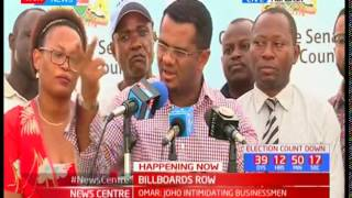 Let us join Joho this time when he goes to stop Uhuru Kenyatta from launching the ferry, Hassan Omar