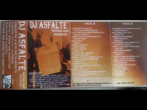 Dj Asfalte - Spécial Rap Français - 1999 (MIXTAPE)