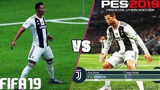 FIFA 19 vs. PES 2019: Celebrations | 4K