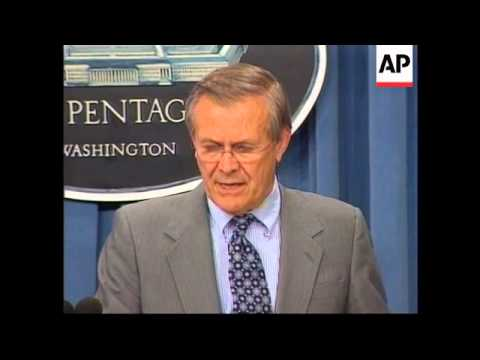 Donald Rumsfeld admits botched attack in Afghanistan