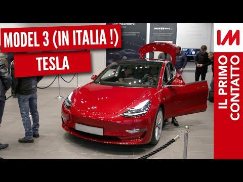 Tesla Model 3 arriva IN ITALIA! Scopriamola in anteprima!