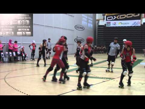 Its all about Roller Derby: M/S Tampere hits Harbor-Bout of the A teams