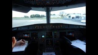 Volotea Airbus A319-100 ~ Check In, Cockpit View ~ Flight Funchal-Tours-Bordeaux