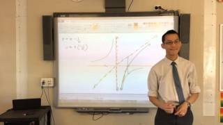 Further Graphing (3 of 5 : Sketching the Subtraction of two component graphs)