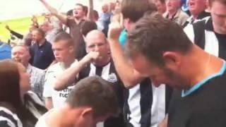 Sunderland 0-1 Newcastle after final whistle.