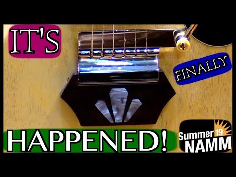 IT'S. FINALLY.  HAPPENED!!! | 2019 Summer NAMM Highlights + Reactions To Gibson Booth