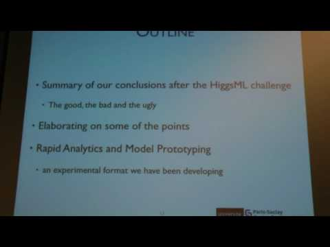 NIPS 2015 Workshop (Kegl) 15517 Applying (machine) Learning to Experimental Physics (ALEPH) and...