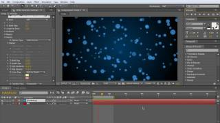 How to make a field of particles inside of After Effects
