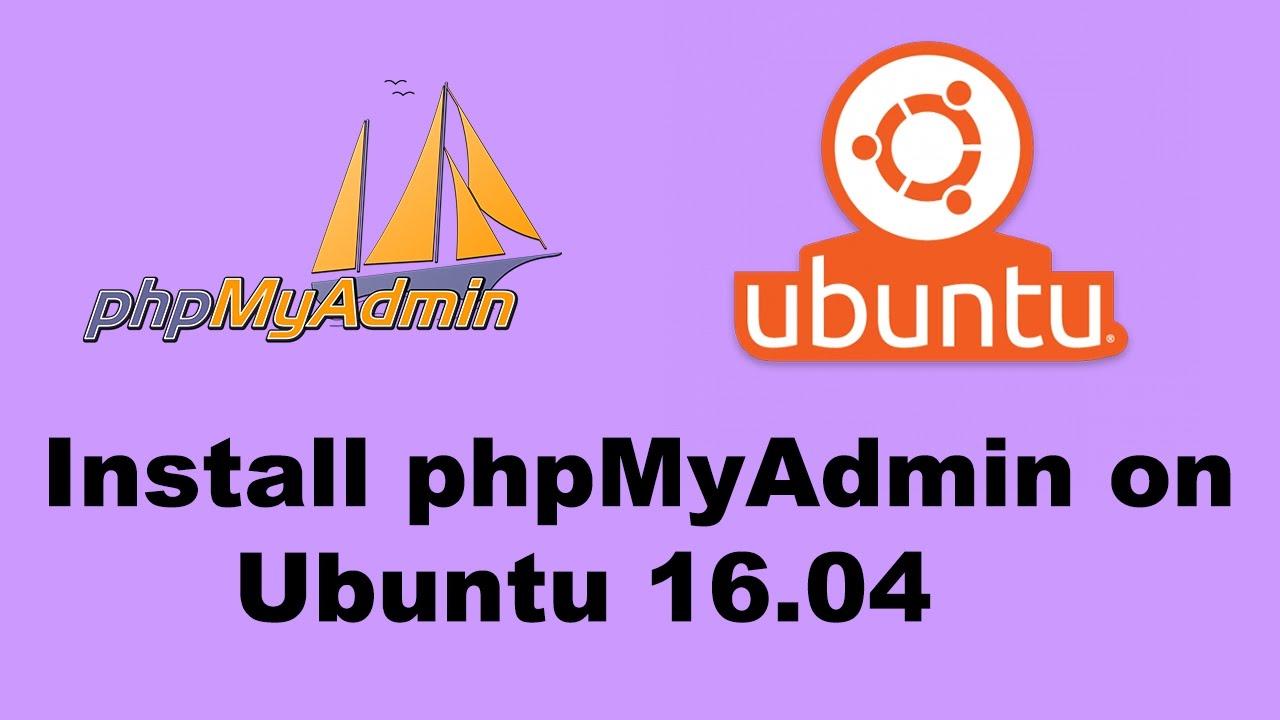 install phpmyadmin ubuntu 19.04