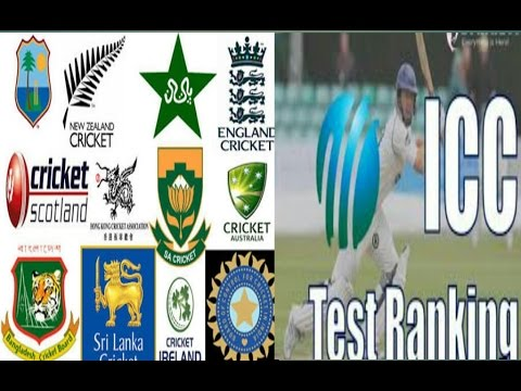 NEW ICC TEST TEAMS RANKING 2016