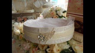 dIY  Wedding gift basket.свадебная корзина своими руками