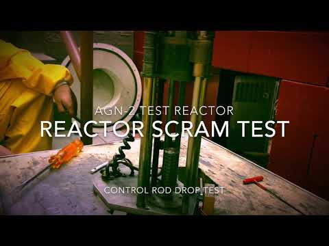 AGN-2 Nuclear Reactor SCRAM Emergency Shutdown Test