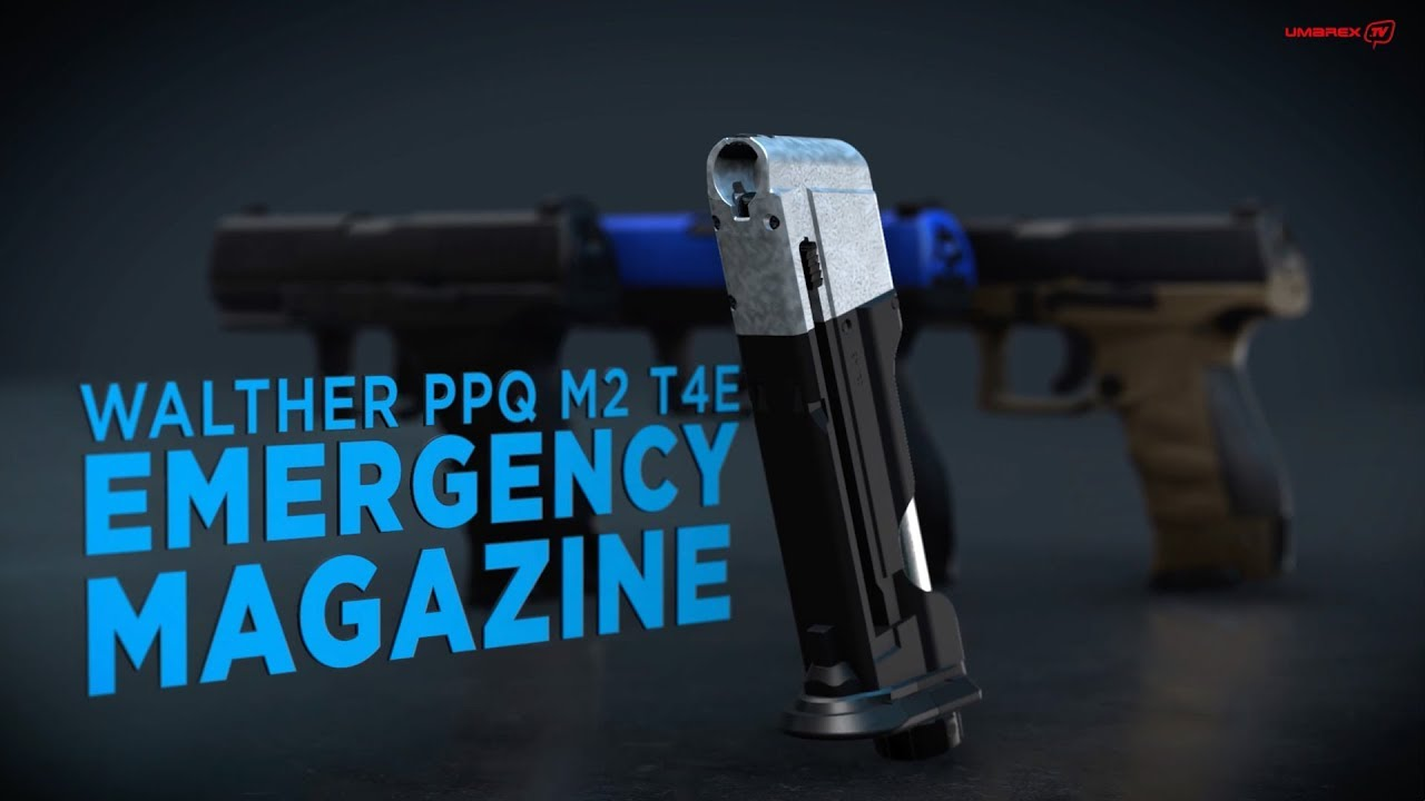 Walther PPQ M2 T4E Emergency Magazine cal   43