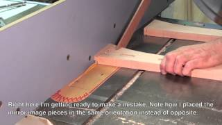 46 How To Build A Bed • Cutting Stub Tenons