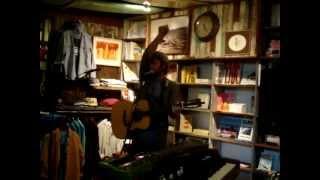 Neil Halstead -- Chasing Rainbows [9/15] LIVE @ Mollusk Surf Shop, Venice Beach CA 05-8-2012