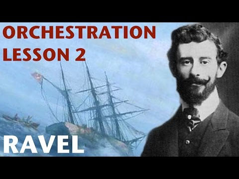 Orchestration Lesson: Ravel, Part 2