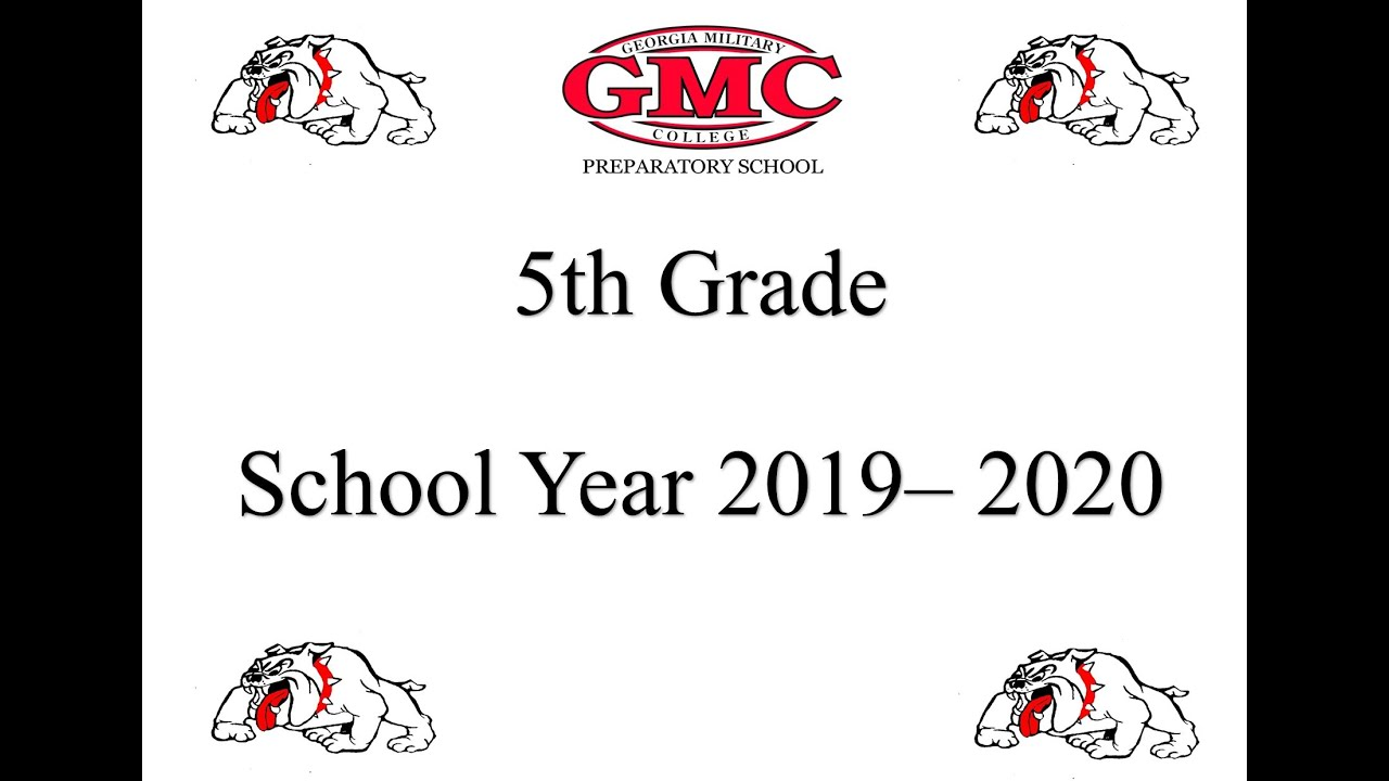 2019-2020 5th Grade End of Year Celebration and Awards