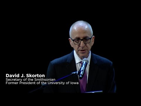 David J. Skorton Lecture: How STEM and the Liberal Arts Nourish Each Other