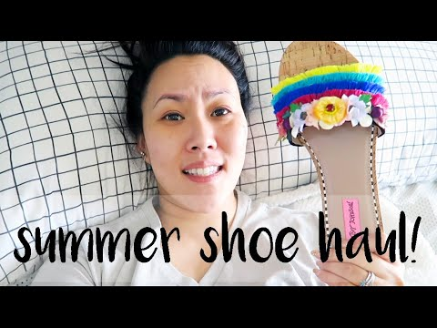 summer-shoe-haul!