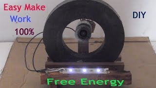 Free energy light bulbs work 100% - How to make free energy light bulb with magnets at home