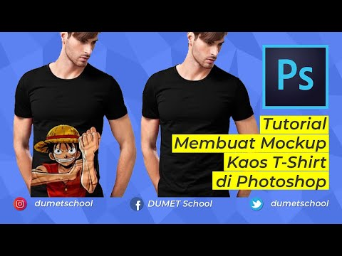Tutorial Membuat Mockup Kaos T-Shirt Di Photoshop