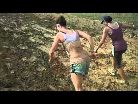 Rugged Maniacs Mary & Sarah:  fire, mud, barbed wire, and FINISH LINE