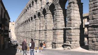 The Great Roman Aqueduct at Segovia
