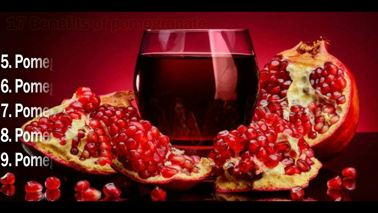 Watch 17 Best Benefits Of Pomegranate Juice (Anar Ka Ras) For Skin, Hair And Health video