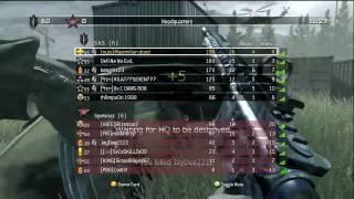 Call of Duty 4: Shipment 130 kills PART 1