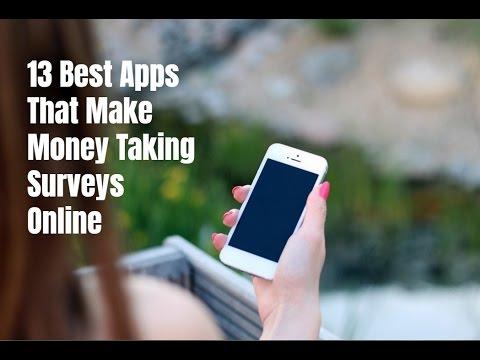 13 Best Apps to Make Money Taking Surveys Online