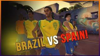 FIFA STREET 3 - BRAZIL VS SPAIN
