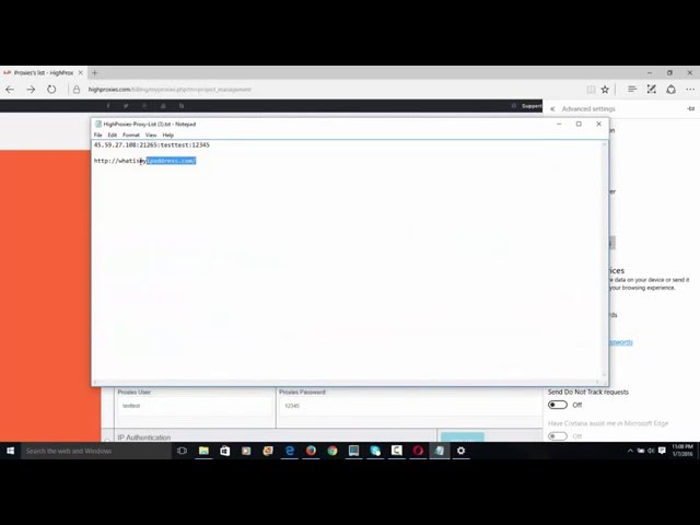 How to configure a Proxy in Internet Explorer