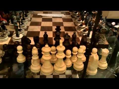 A Beautiful Civil War Chess Set