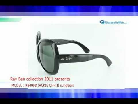 b72c112e26 Ray Ban RB4098 JACKIE OHH II sunglasses - YouTube